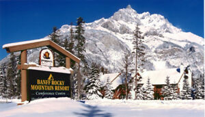 Banff Rocky Mountain Resort 2 bdrm condo <=6 ppl Feb 11-13, 201