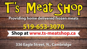 Frozen Local Christmas Turkey's and lots more Home Delivered Cambridge Kitchener Area image 2
