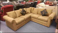 Superb Sectional! NEW & only $688! WOW!!