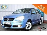 2007 07 VOLKSWAGEN POLO 1.2 S 5D 63 BHP P/X WELCOME FULL SERVICE HISTORY! EXCEL