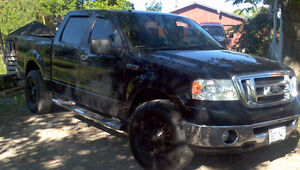 2008 Ford F-150 4x4 Crewcab Pickup Truck E- TESTED