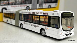 Corgi 1/76 Scale AN41307 Wright Solar Fusion Doig's of Glasgow diecast model bus