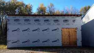 30ft x 16ft storage shed