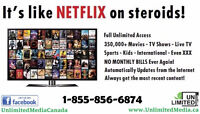 Unlimited Movies, TV Shows & Live Sports