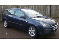**MOT 02/18** Ford Focus 1.6 2005 Zetec Climate Estate