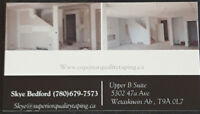 Drywall Taping, Painting and Texture Services