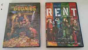 NEW The Goonies DVD and USED Rent DVD