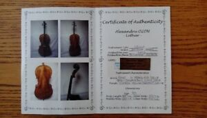 Cello model Andrea Amati with over 55 years old wood
