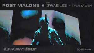 JUST RELEASED✯✯ Post Malone ✯✯Rogers Arena,  MON Sep 16 8PM ✯✯