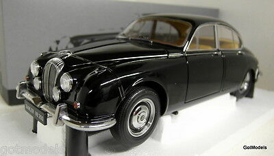 Paragon 1/18 Scale Daimler 250 V8 1967 Black Diecast Model Car