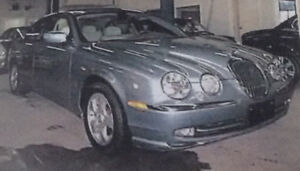 2002 Jaguar S-TYPE Cuire beige Berline