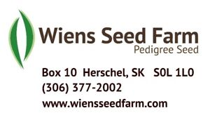 Certified Seed - Wheat, Durum, Barley, Lentil, Canary