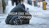 Help the homeless Ontario ( go fund me )