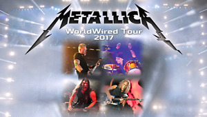 Metallica General Admission Hardcopy Floor Tickets  For Sale!!!!