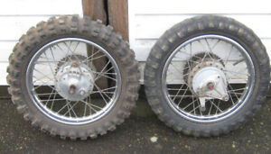 "Honda  14"" Rear rims / wheels  , Xr , XL , SL ,,, ST 90 ?"