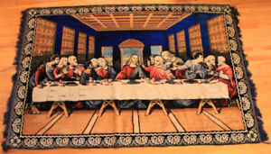 The Last Supper -- Tapestry (Wall Hanging or Rug)
