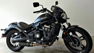 2018 Vulcan S ABS with Café Racer Windscreen w/Upgraded Exhaust