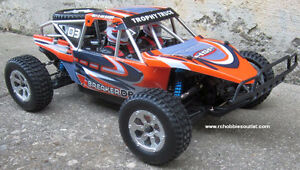 New RC Truck Baja Style Brushless Electric 4WD 2.4G 1/10 Scale
