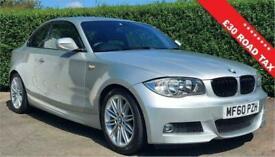 image for 2010 60 BMW 1 SERIES 2.0 118D M SPORT 2D 141 BHP DIESEL