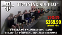 Bootcamp & Personal Training Special!