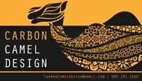 Freelance Graphic Design and Communications: Carbon Camel Design