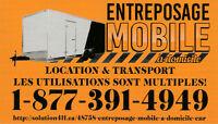 ENTREPOSAGE MOBILE à domicile enr. (LOCATION & TRANSPORT)