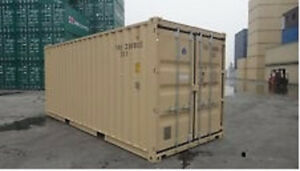 20 ft. storage container