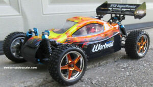 New RC Buggy / Car HSP WARHEAD Nitro 2-speed 4WD 2.4G