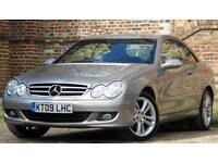 2009 Mercedes-Benz CLK 1.8 CLK200 Kompressor Avantgarde 2dr