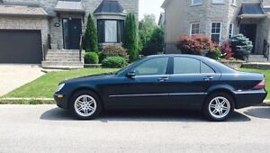 Mercedes s430 cuir toit ouvrant gps wow!!