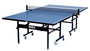 JOOLA Indoor Table Tennis Table (Ping Pong) with Net Set