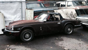 SELLING OR PARTING OUT 1976 SPITFIRE 1500