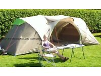 Quechua family pop up tent