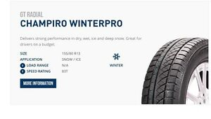 Winter tires - size 13 with rims