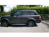 Range Rover sport supercharged 4.2 v8 petrol