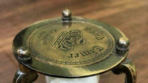 Antique Brass Sand Timer Hourglass, Nautical Timer, Classic Sand Timer Hourglass
