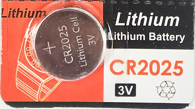 Cr2025 Coin Cell Battery - CR2025 3V cc Lithium Coin Cell Battery Button Batteries CR 2025 DL 2025 BR