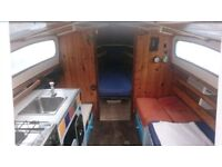 sailing boat for rent!