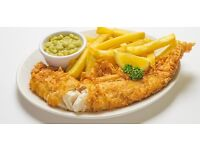 Part time/Weekend staff Kitchen Assistant & Cashier in Fish & Chip Shop