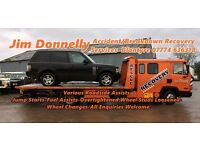 Jim Donnelly Vehicle Transporters/Recovery Services & Roadside Assists Blantyre