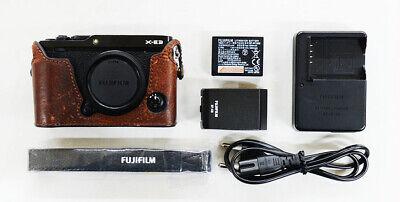 # Fujifilm X-E3 24.3 MP Mirrorless Camera - Black S/N 10179
