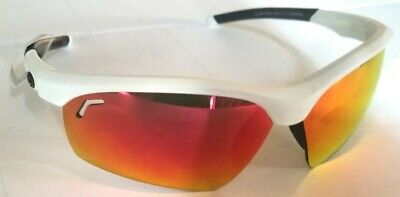EVOSHIELD Sunglasses gloss White Frames - (Evoshield Sunglasses)