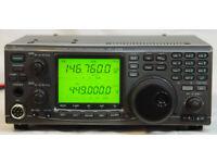 Icom IC 910H All Mode 100w VHF UHF 2m 70cm FM SSB multimode with 40 am
