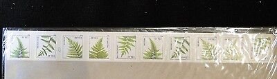 4848 4852 49C Ferns Pnc Coil Strip Of 25  10K Mint  Mnh Free Shipping