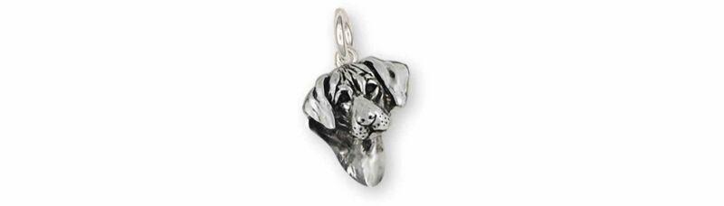 Rhodesian Ridgeback Jewelry Sterling Silver Handmade Rhodesian Ridgeback Charm