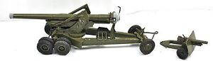 Britain Ltd Diecast Military Army Gun Heavy Artillery Cannon Howitzer