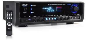 New in box -- PYLE PT390BT BLUETOOTH HOME THEATER STEREO RECEIVER - INSTANTLY STREAM FROM MOBILE DEVICE !!