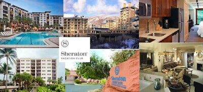 SHERATON FLEX VACATION POINTS, 118,000 FLEX POINTS, ANNUAL TIMESHARE - $1.00