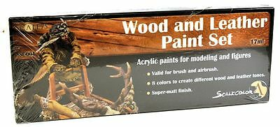 Scale 75 Wood & Leather Paint Set - 38766