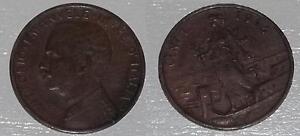1 CENTESIMO ITALIA SU PRORA 1914 - VITTORIO EMANUELE III - ITA, Italia - 1 CENTESIMO ITALIA SU PRORA 1914 - VITTORIO EMANUELE III - ITA, Italia